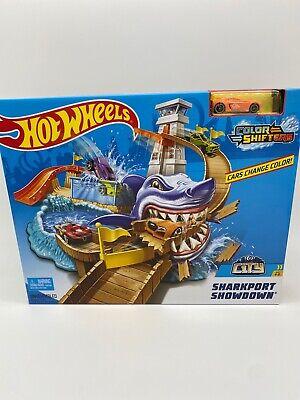 Nuevo Hot Wheels Color Shifters sharkport Showdown Cambia De Color