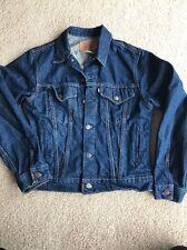 Vintage LEVI STRAUSS Womens Youth Denim Jean Jacket sz 20 (not Plus Size)