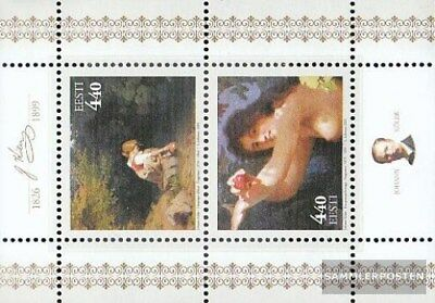 Intelligent Estonia Block 15 (completa.problema.) Mnh 2001 Köler Profit Small