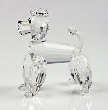 Swarovski Pudel Var1 Original Figur poodle frosted tail