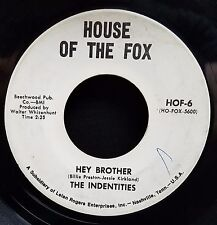Indentities Soul Funk 45 Hey Brother WLP House Of The Fox 6