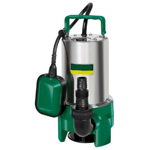 Hause Einhell Schmutzwasserpumpe 550 W Edelstahl Tauchpumpe 12500 l//h aus d