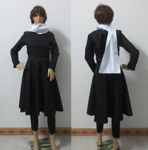 NEW YuYu Hakusho Hiei Cosplay Costume Customized Any Size HH.09