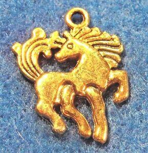 50pcs wholesale tibetan antique gold horse pendants charms earring 50pcs wholesale tibetan antique gold horse pendants charms aloadofball Images