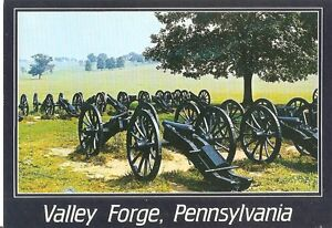 Postcard: USA - Lunette-Cannon emplacements at Valley Forge, Pennsylvania - Wolbrom, Polska - Postcard: USA - Lunette-Cannon emplacements at Valley Forge, Pennsylvania - Wolbrom, Polska