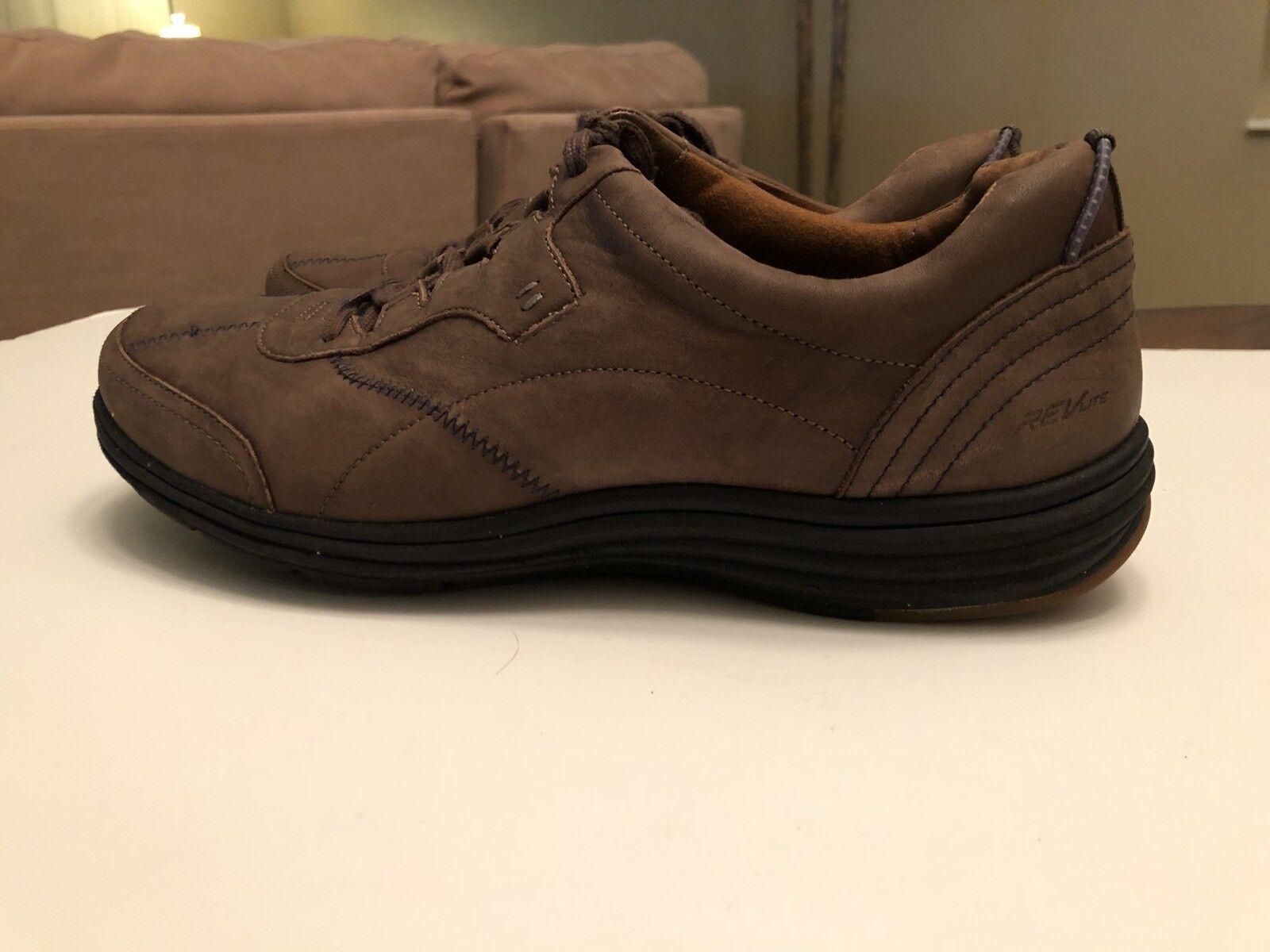 Cobb Hill REVLite NEUbalance Braun Leder Lace Up Damenschuhe Schuhes Sz 11