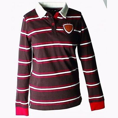 3 for a Girl Womens Irish Striped Rugby Shirt