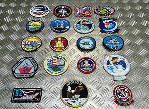 Space-Mission-Aviation-Patches-USA-NASA-Soviet-Russia-CCCP-Various