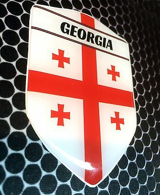 "Turkey Türkiye Proud Shield Flag Domed Decal Emblem Car Sticker 3D 2.3/""x 3.3/"""