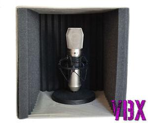VBX - Desktop USB Studio Microphone Acoustic Foam Sound Recording Vocal Booth