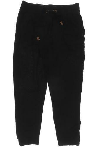 Naketano Stoffhose Damen Hose Pants Gr. M Viskose schwarz #c2cc87c