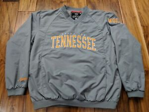 FRANCHISE-CLUB-TENNESSEE-VOLUNTEERS-VOLS-PULLOVER-JACKET-MENS-SMALL-MEDIUM-WIND