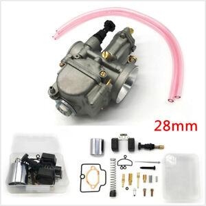 28mm Racing Flat Slide Carburetor +Repair Tools for