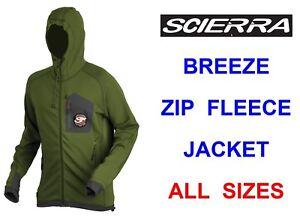 Scierra Breeze Highly Breathable Mid Layer Body Fit Tech Fleece Fishing Jacket