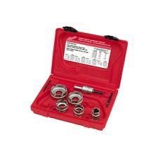 NEW MILWAUKEE 49-22-8310 ELECTRICIAN'S 7 PIECE SHEET METAL CARBIDE CUTTER KIT