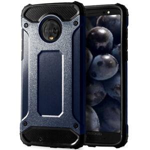 Portable-Bumper-Etui-Pour-Motorola-Moto-G6-Plastique-Rigide-Exterieur-TPU-Housse