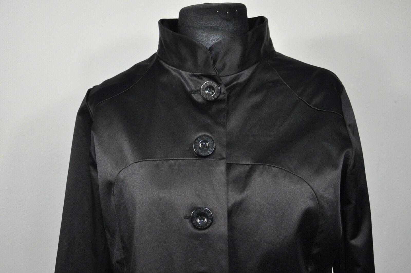 Desigual Sunbleu Mantel Noir Veste Trench Coat Taille 44