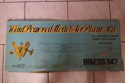 """Frank Wind Powered Model Air Plane Kit -ijn Trainer """"hiness 347"""" -spannweite 1,5 M Um 50 Prozent Reduziert"""