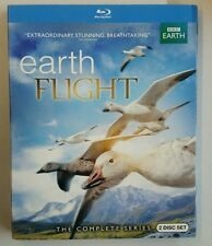 Earthflight (Blu-ray Disc, 2014, 2-Disc Set, with Slipcover) BBC EARTH