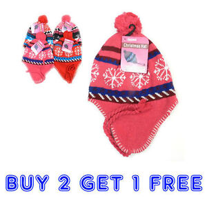 8335f95a3dd28 Buy 2 Get 1 FREE Winter Peruvian Ear Flap Ski Hat Beanie Cap Snow ...