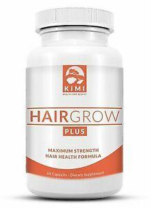 Hair Growth Vitamins >> Hair Growth Vitamins Grow Plus Scientifically Formulated Supplement W Biotin