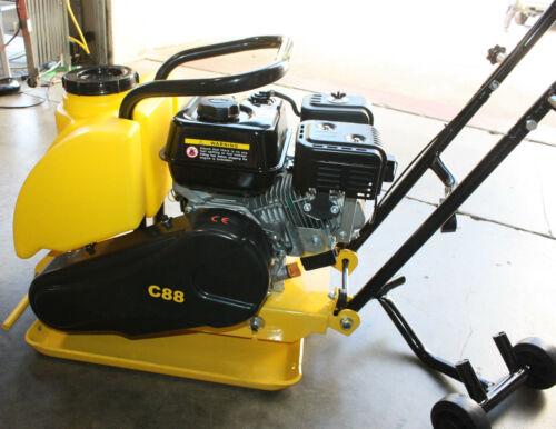 WALK BEHIND 196CC INFINITY C88 DIRT PLATE VIBRATORY COMPACTOR 6.5 HP GAS POWER