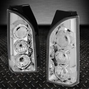 FOR-05-15-NISSAN-XTERRA-PAIR-CHROME-HOUSING-TAIL-LIGHT-REAR-BRAKE-PARKING-LAMPS