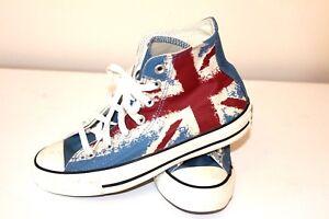 Ladies Converse British Flag Union Jack