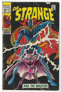 Doctor-Strange-Vol-1-177-Very-Good-VG-RS003-Marvel-Comics-SILVER-AGE