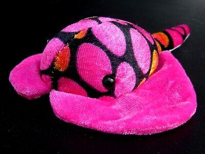 Manta Ray Cool Blue /& Black Soft Plush Stuffed Ocean Life Doll Stingray Sting