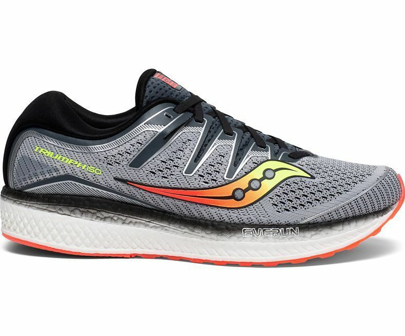 NUOVO Saucony TRIUMPH ISO 5 GRY GRY GRY BLK W S20463-1 3d89ab