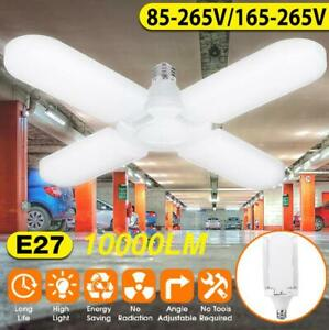 10000lm-75W-E27-Bright-LED-Garage-Light-Deformable-Ceiling-Fixture-Workshop-Lamp