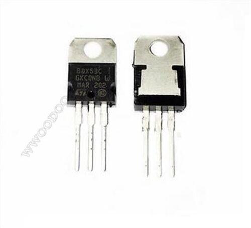 10Pcs BDX53C BDX53 Trans Npn Darl 100V 8A TO-220 kk