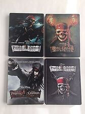 Pirates of the Caribbean 1-4 Blu-ray Steelbook [Canada] Future Shop / Best Buy