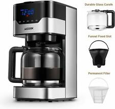 Andrew James Coffee Machine With Grinder 12 Cup Maker