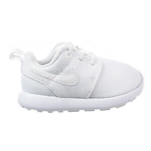 Image is loading Nike-Roshe-One-TDV-Toddler-Shoes-White-White-