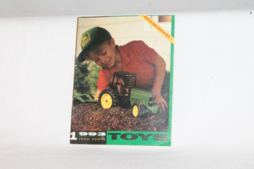 ORIGINAL 1993 ERTL TOYS JOHN DEERE FARM TRACTOR EQUIPMENT CATALOG