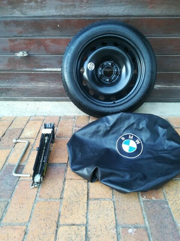 BMW F80 F82 M3 M4 Factory Original Space Saver Spare Wheel Kit BNew