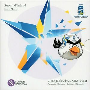 SÉRIE EURO BRILLANT UNIVERSEL (BU) - FINLANDE 2012 HOCKEY SUR GLACE