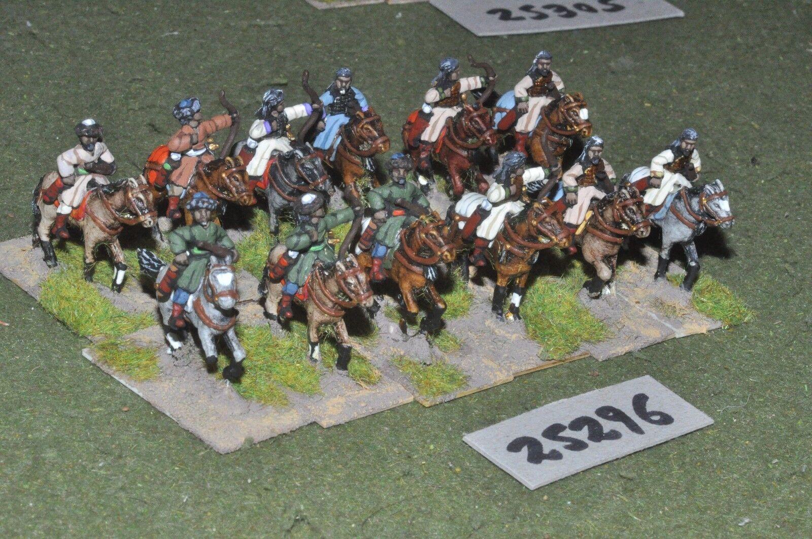 20mm medieval Sarraceno-Heavy 12 figuras-CAV (25296)