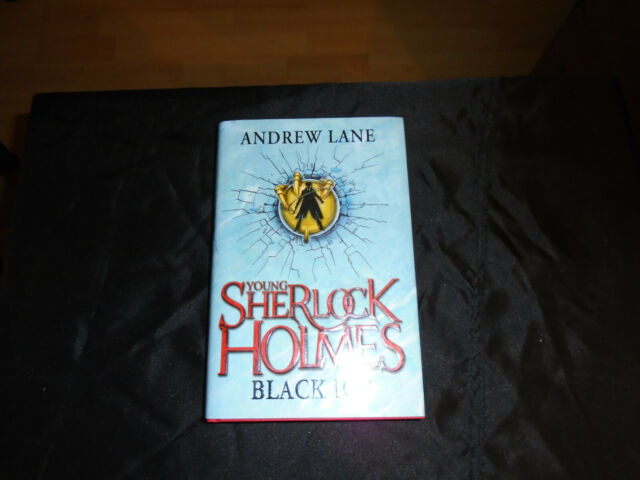 Young Sherlock Homes BLACK ICE signed numbered 52 of first edition hardback