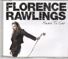 (EN59) Florence Rawlings, Hard To Get - 2009 DJ CD