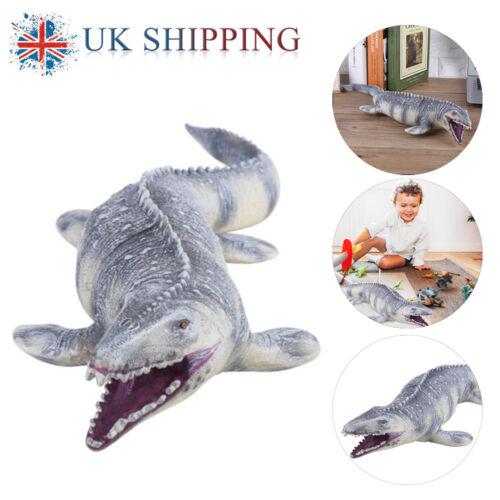 45CM realista dinosaurio Mosasaurus animal modelo figura juguete#