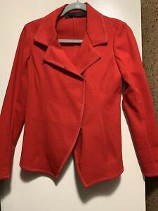 Donna-Karan-Red-Hook-Eye-Blazer-Jacket-Size-S
