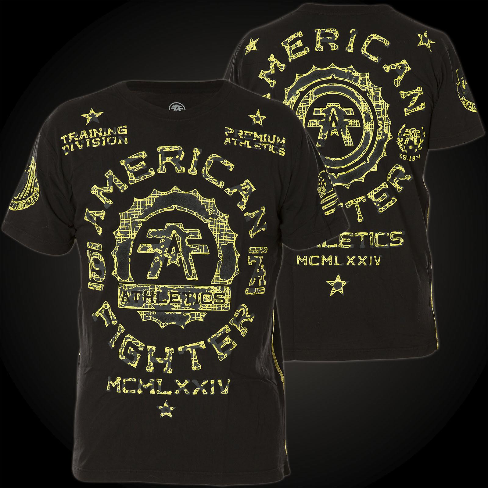 AMERICAN FIGHTER Affliction T-Shirt Maryland II Schwarz T-Shirts