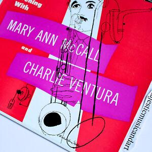 BEAUTIFUL-DAVID-STONE-MARTIN-COVER-CHARLIE-VENTURA-VINYL-VERVE-LP-EX-RARE