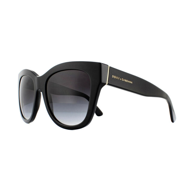 dad74bfd09 Dolce   Gabbana DG 4270 501 8g Black Frame Grey Shaded Lens ...