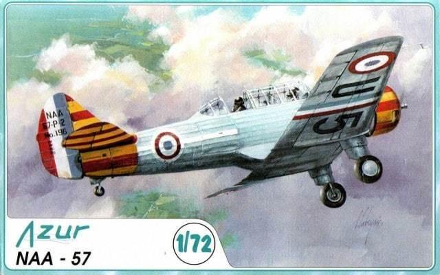 Azur 009 North American NAA-57 1 72 modeling