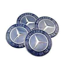 4PCS 65MM Benz Car Wheel Center Hub Cap Stickers Emblem Auto parts Mercedes
