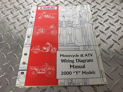 2000 Suzuki Motorcycle & ATV Wiring Diagram Manual 99923 ...